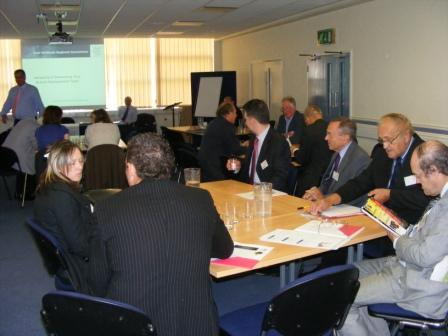 Delegates hearing about the changes to take place in Jan 10
